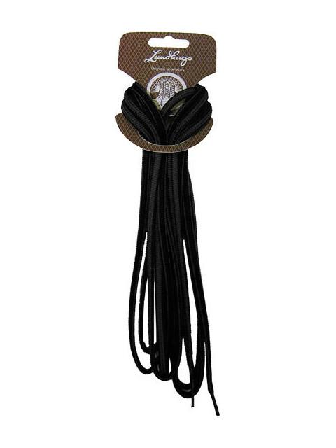 Lundhags Shoe Laces 165 cm Black